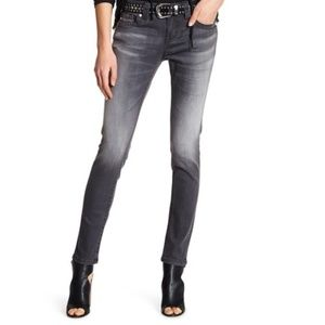 Miss Me Gray Mid Rise Skinny Jeans NWT 29